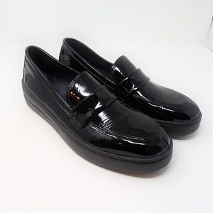 THE FLEXX No Loaf N Loafer in Black Patent Leather
